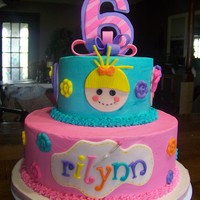 Lalaloopsy Cake For My Cousins Daughter Lalaloopsy cake for my cousin's daughter.
