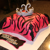 Pillow Cake My Pillow Zebra cake