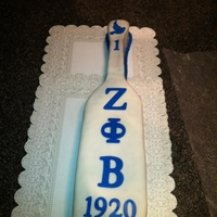 Sorority Cake sorority paddle