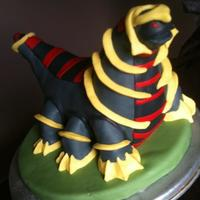 Pokemon Cake This is a cake I made for my son's 11th birthday party. It's a chocolate cake with a vanilla cookies and cream filling. TFL