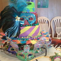 My Birthday Cake I made this cake for myself for my 39th birthday I thought I deserved it, lol. This cake was a show stopper at my birthday.