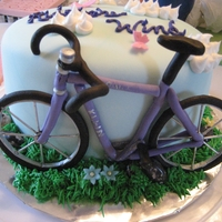 Bicycle Birthday Cake Bicycle Birthday cake Fondant
