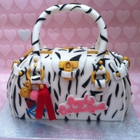 Pauls Boutique Bag Cake
