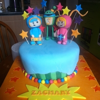 Team Umizoomi Cake this was for my sons 3rd birthday, he loves team umizoomi! I actually came up with the decorating ideas myself only to go online and...