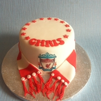 Mini Fathers Day Liverpool Cake