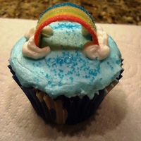 Rainbow Cuppies For Fundraiser