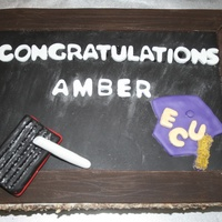 Chalk Board Cake My Future Daughter In Law Just Graduated From East Carolina University With A Degree In Elementary Education Chalk board cake. My future daughter in law just graduated from East Carolina University with a degree in Elementary Education.