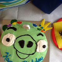 King Pig Cake From Angry Birds