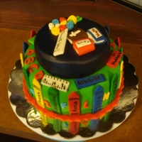 Kindergarten Teacher Cake