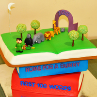 3 Tiered Book Cake 3 Tiered Book Cake