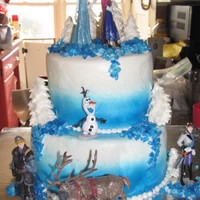 Frozen Cake - Olivia's 10Th