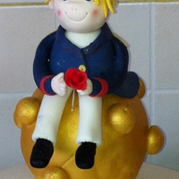 Little Prince Cake Topper