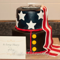 Memorial Cake For A Marine That Was Killed In Camp Pendleton It Was An Honor To Make This Cake For The Family I Hope The Golf Tourney Is Memorial Cake for a Marine that was killed in Camp Pendleton. It was an honor to make this cake for the family! I hope the golf tourney is...