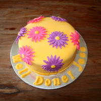 Yellow Cake With Daisy's