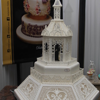 All Decoration And Chapel Made In Royal Icing All decoration and chapel made in Royal Icing.