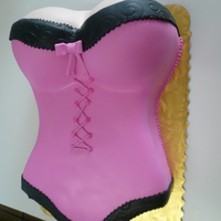 Pink Bustier Cake