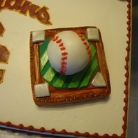 Trojans Cake, Baseball Congratulation cake for college