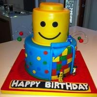 Lego Cake *lego cake designed and inspired from the many great lego cakes out there!