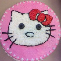 Hello Kitty Second Creation! Need more details, but for being my second cake it is ok. Hopefully the next one would be better.