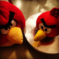 For My Sons Birthday He Loves Angry Birds I Modeled Him After His Stuffed Animal for my son's birthday. he LOVES angry birds. I modeled him after his stuffed animal