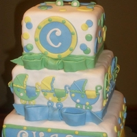 Baby Shower Cake Baby Boy baby shower cake