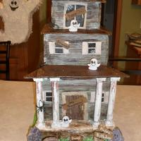 Haunted House Cake *Haunted House Birthday Cake