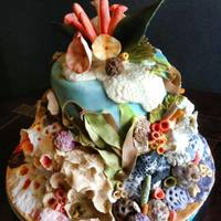 Pme - Fondant Class - Under The Sea Cake   *