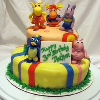 Backyardigans Birthday Cake