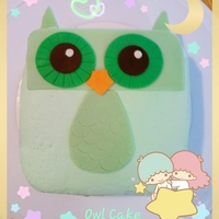 Simple Owl Cake By Wilton This cake is for my daughter teacher's birthday