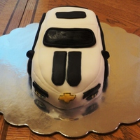 Daddy's Car Camaro inspired cake that i made for my good friends dad. Since he is diabetic, It's a sugar free vanilla cake with sugar free vanilla...