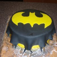 Bat Cake Made Out Of Fondant Bat cake made out of fondant.