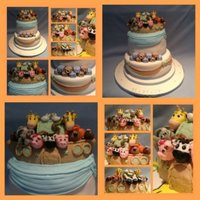 Noah's Ark Christening Cake i made this for my cousins little boy's christening day :O) xx