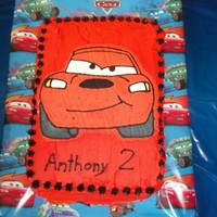 Car's Lightning Mcqueen Butter Cream Transfer This is the second butter cream transfer I ever made. It was for my grandson's 2nd birthday party. It was alot of fun to make and he...