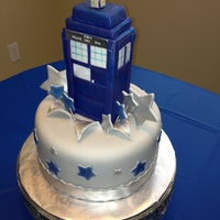 Dr Who Tardis Cake The Tardis Is Where The Dr Travels Through Time And Space Very Fun Show My Daughter Is A Huge Fan Dr. Who Tardis cake. The Tardis is where the Dr. travels through time and space! Very fun show. My daughter is a huge fan!