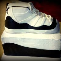 Michael Jordon Concord 3D Shoe And Box Cake *