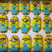 Despicable Me *Minion Sugar Cookies