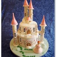 Our Fairy Princess Castle Cake This Two Tiered Cake Is 100 Edible Towers Were Filled With Surprise Treats For The Birthday Girl   Our Fairy Princess Castle Cake. This two tiered cake is 100% edible. Towers were filled with surprise treats for the birthday girl.