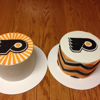 Flyers Playoff Cakes