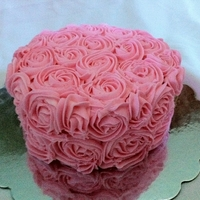 Roses Buttercream roses using the !M tip