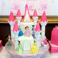 Princess Castle another version using the castle kit from wilton