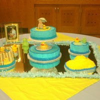 Duck   Made this cake for my niece shower, it was a big hit was fun to make.