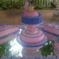Sonia Baby Shower I made This cake for my niece baby shower , I'm a beginner in cake decorating, I do it for fun , comment and good tips are always...