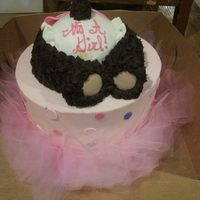 Ballerina Teddy Bear Rump Cake This cake was done for a baby shower with a ballerina bear theme so I decided to do a teddy bear rump instead of a baby's