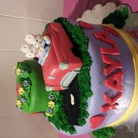 Max And Ruby My daughters 6th birthday cake i made just for her