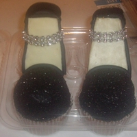 Cupcake High Heels My first time making cupcake high heels
