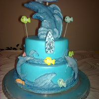 Seaworld Novelty Birthday Cake