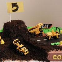Road Construction Cake For Colton Road Construction Cake for Colton