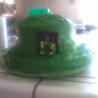 St. Pattys Day!! Last minute cake lol