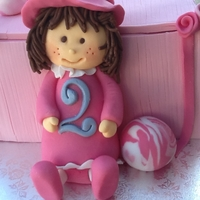 Doll And Box Cake