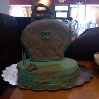 Chanel Purse For A 21St Birthday I used my niece's favorite colors for her 21st birthday cake. This is my first purse cake.